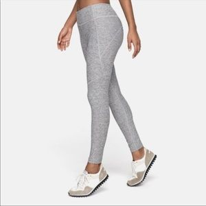 Outdoor Voices Light Grey Warmup Leggings